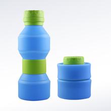 硅胶水壶图片,硅胶折叠水壶