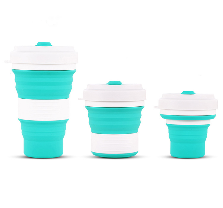 硅胶折叠咖啡杯