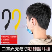 口罩防勒耳掛 現貨硅膠口罩繩 硅膠防勒耳掛廠家