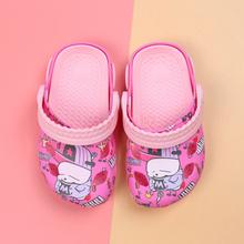儿童硅胶鞋 小孩透气硅胶洞洞鞋 硅胶沙滩鞋