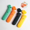东莞宏霖矽膠制品厂家 relax皮纹矽膠套 创意relax矽膠防护套